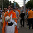 Stock Photo: KHARKOV, UKRAINE - JUNE 9: Netherland fgoes to stadium before