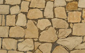 Background of decorate sandstone wall surface — Stock Photo