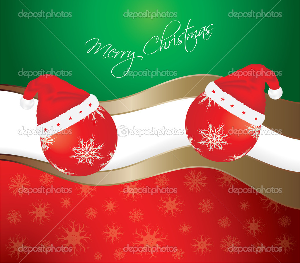 Abstract Merry Christmas background. Vector eps10 illustration  Stock Vector #11602698