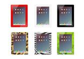 Illustration of set of Ipad design Tablet. — Stock Photo