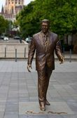 Ronald Reagan Statue — Stock Photo