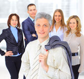 A group of business — Stock Photo