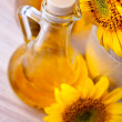 Royalty-Free Stock Photo: Pitcher with sunflower oil