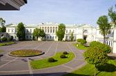 Litvanyalı başkanlık sarayı başkenti vilnius — Stok fotoğraf