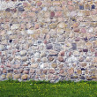 Old castle stone wall background — Stock Photo