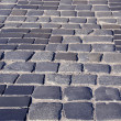 Historical street pavement stone background — Stock Photo
