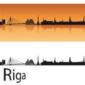 Riga skyline — Stock Vector