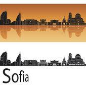 Sofia skyline — Stock Vector