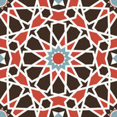 Arabesque seamless pattern — Stockvector