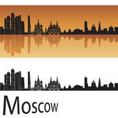 Moscow skyline — Stock Vector
