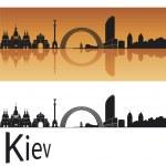 Kiev skyline — Stock Vector
