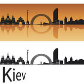 Kiev skyline — Stock Vector