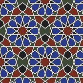 Arabesque seamless pattern — Stock Vector