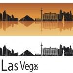 Las Vegas skyline — Stock Vector