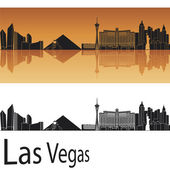 Las Vegas skyline — Stock Vector