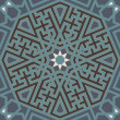 Arabesque seamless pattern - Stockvectorbeeld