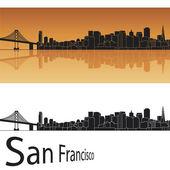 San Francisco skyline — Stock Vector