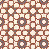 Arabesque seamless pattern — Stock Vector