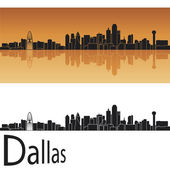 Dallas skyline — Stock Vector