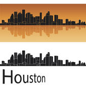 Houston skyline — Stock Vector