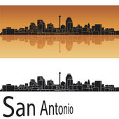 San Antonio skyline — Stock Vector