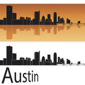 Austin skyline — Stock Vector