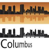 Columbus skyline — Stock Vector