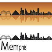 Memphis skyline — Stock Vector