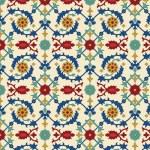 Arabische naadloze patroon — Stockvector