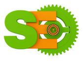 Search engine optimalisatie symbool — Stockfoto