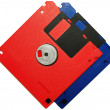 Two floppy disks — Stock Photo