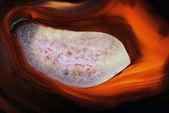 Ogień agat — Zdjęcie stockowe