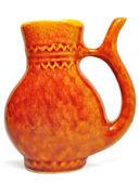 Brown mug-pitcher — Stock Photo