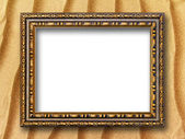 Frame for pictures on the background of sand dunes — Stockfoto
