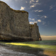Les falaises d'Etretat — Stock Photo