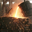 Stock Photo: Steel company production workshop