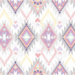 Cтоковый вектор: Abstract geometric seamless aztec pattern