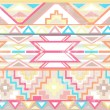 Abstract geometric seamless aztec pattern - Stock Vector