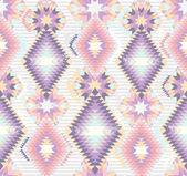 Abstract geometric seamless aztec pattern. — Stock vektor