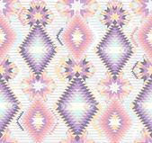 Naadloze geometrische abstracte azteekse patroon — Stockvector
