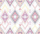 抽象的な幾何学的なシームレスなアズテック パターン — ストックベクタ