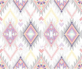 Abstract geometric seamless aztec pattern — Vettoriale Stock