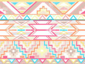Abstract geometric seamless aztec pattern — Stok Vektör