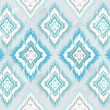 Abstract geometric seamless aztec pattern — Stock Photo