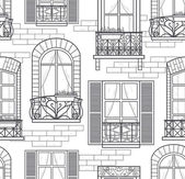 Seamless windows seamless pattern — Stok fotoğraf