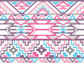 Abstract geometric seamless aztec pattern — ストック写真