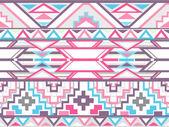 Modello azteco senza soluzione di continuità geometrica astratta — Foto Stock