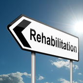 Rehabilitation concept. — Stock Photo