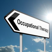 Occupational Therapy concept. — Stock Photo
