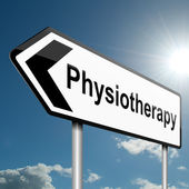 Physiotherapy concept. — Stock Photo